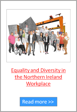 Equality & Diversity in the Northern Ireland Workplace