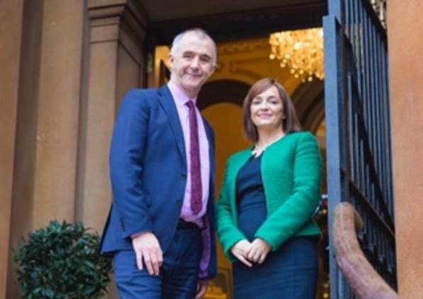 Barry Phillips, Legal-Island and Sinead Curran, Lagan Construction