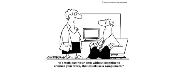 workplace compliment cartoon