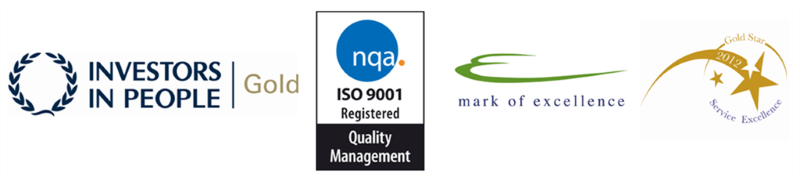 Legal-Island's Recent Awards - IIP Gold - ISO 9001